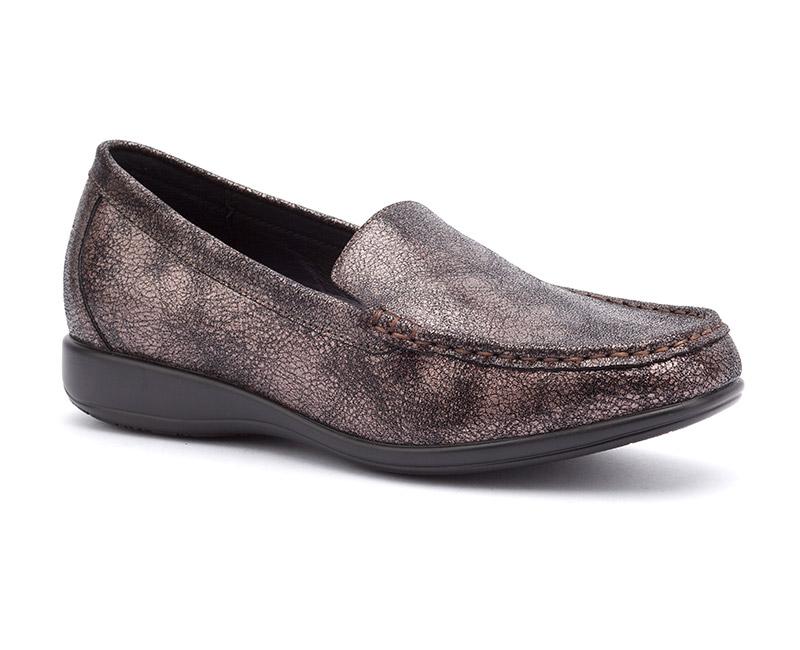 silver orthopedic dress shoes