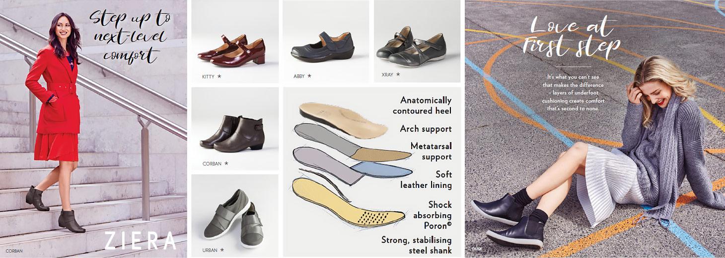 Comfortable Shoes Singapore | Stylish and Orthotic Friendly